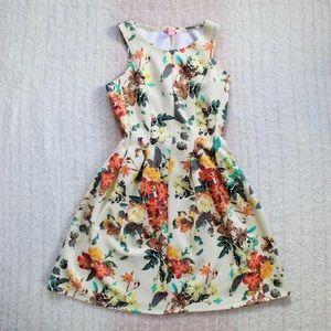 Flowery Candie's Dress